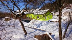 Chez Jeanne sous la neige