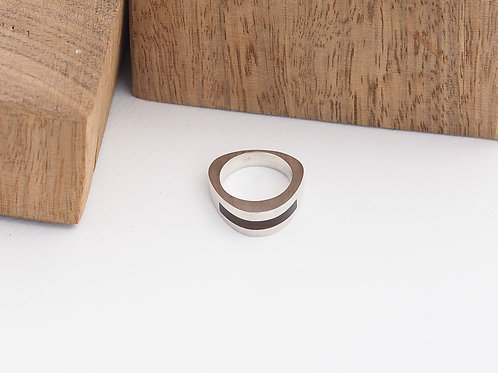 Curved single inlay size N