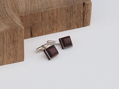 Square cufflinks