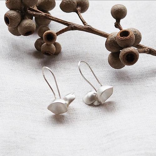 Lantern cluster earrings