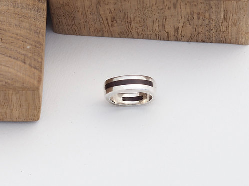 Double inlay band R202 size S
