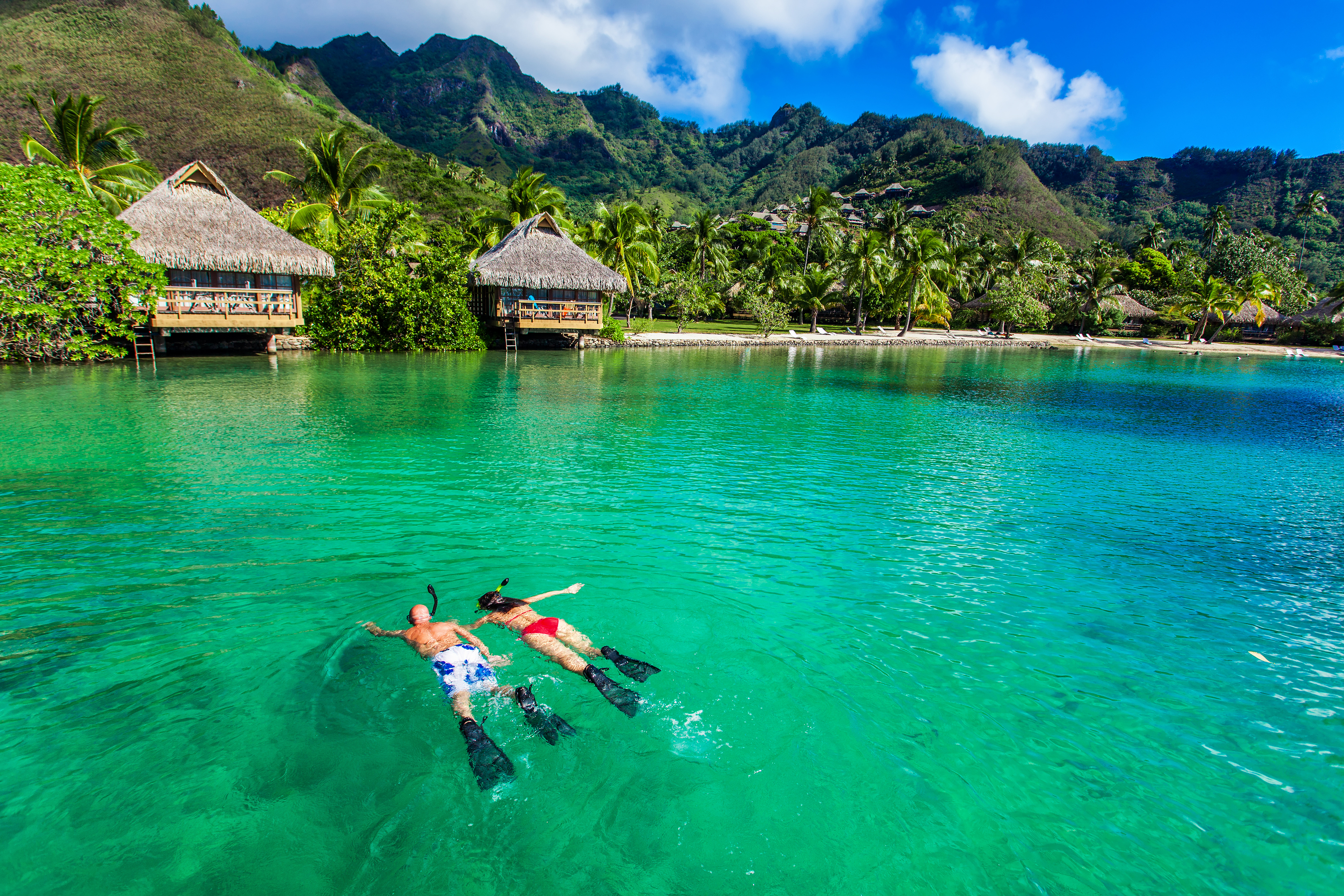 South Pacific Snorkeling Honeymoon