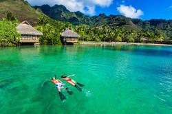 South Pacific Snorkeling Honeymoon