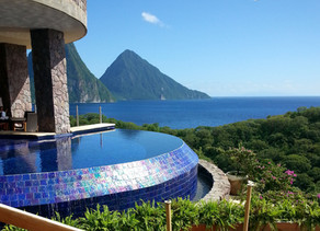 Jade Mountain, the Most Romantic and Unplugged Honeymoon in the World