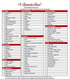free honeymoon packing checklist from Romantics Travel