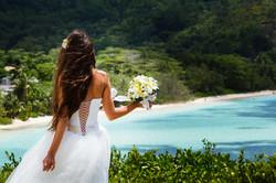 bride, beautiful young girl with dark ha