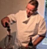 chef à domicile service de vins
