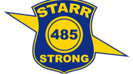 Starr Strong Sticker