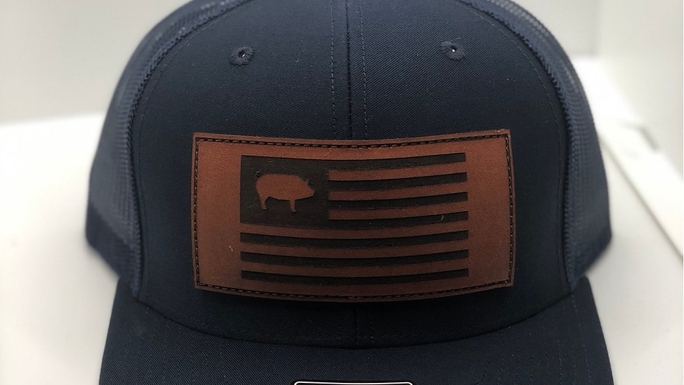 HTL pig flag hat