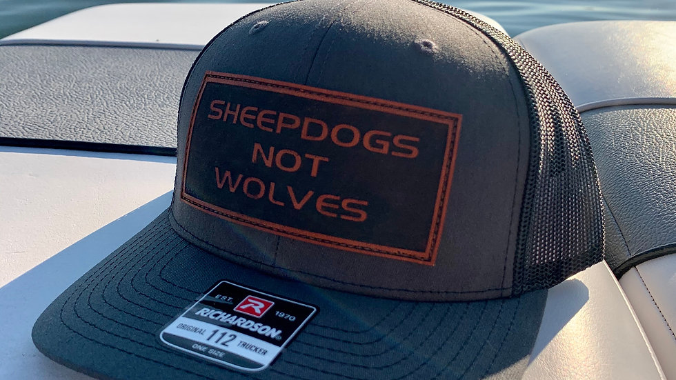 Sheepdogs Not Wolves hat
