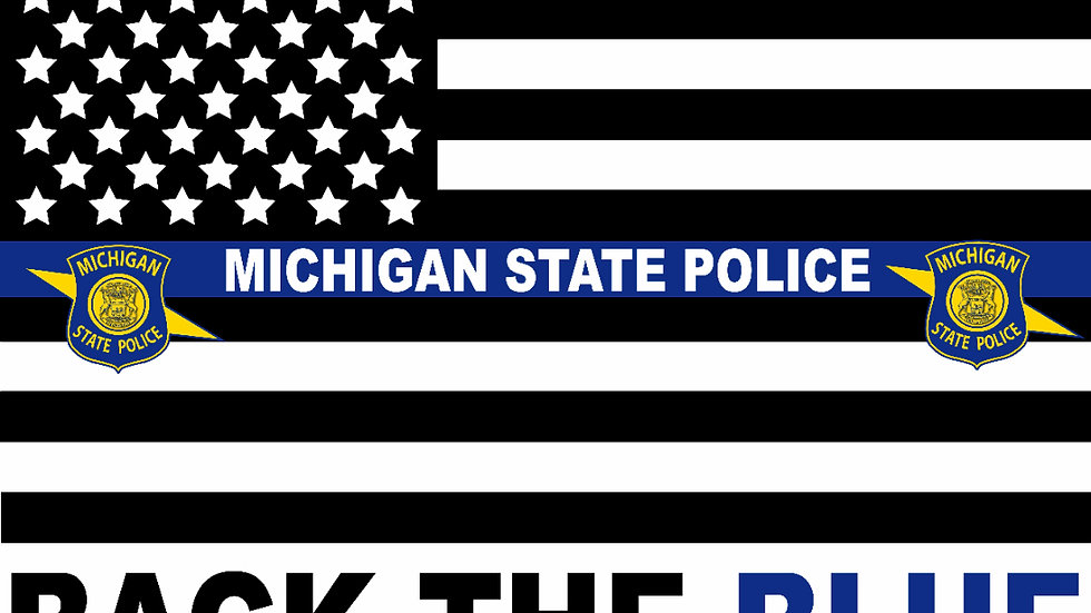 Back the blue yard signs (10 signs)