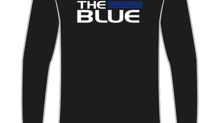 BACK THE BLUE long sleeve T-shirt