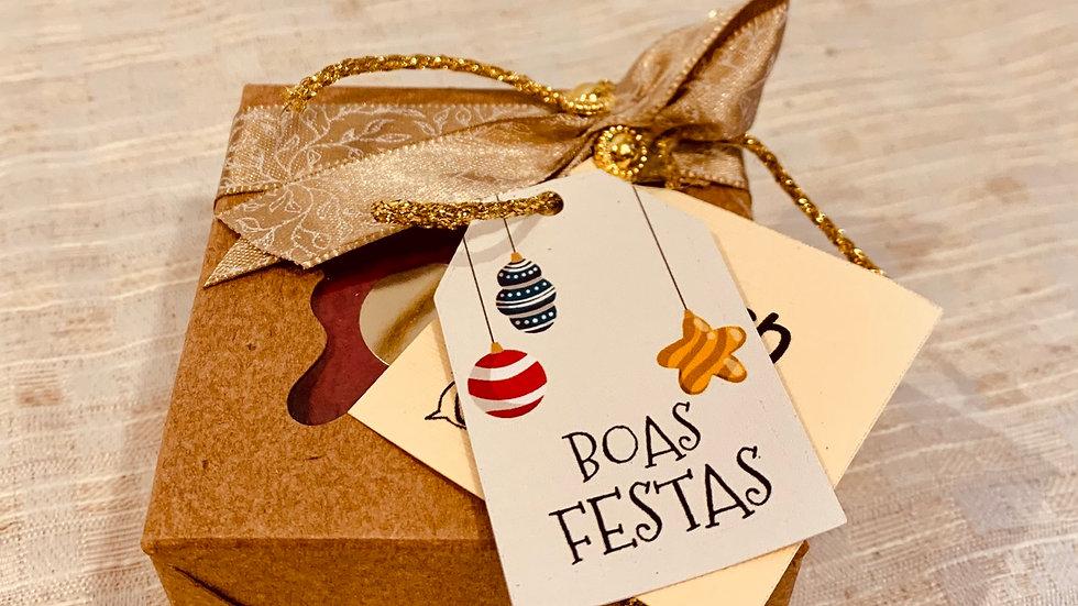 Caixa individual de Natal