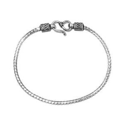 Artisan Crafted Wavy Bracelet Sterling Silver 4.6 Grams