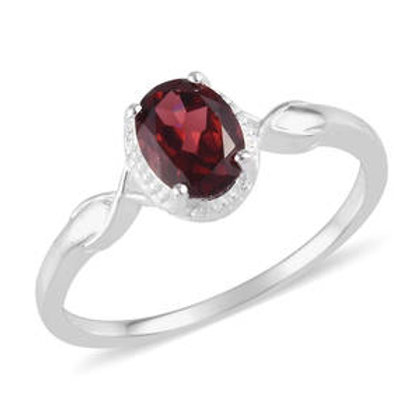 1.50 CTW Rose Garnet Ring