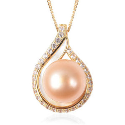 South Sea Golden Cultured Pearl 10-11mm