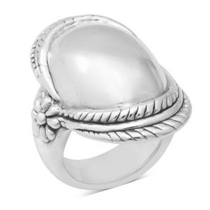 Twisted Ring in Sterling Silver 8.60 g