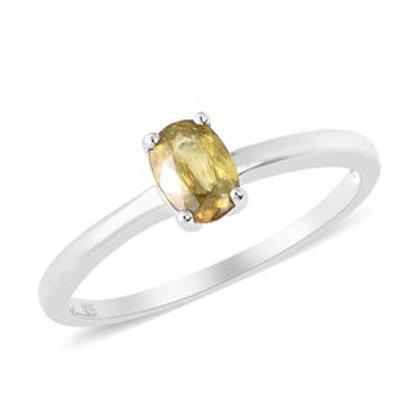 Rare 0.90 ctw Madagascar Sphene Ring Size 8