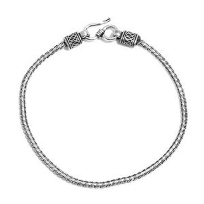 Artisan Crafted Sterling Silver Bracelet (6.75 In) (4.54 g)
