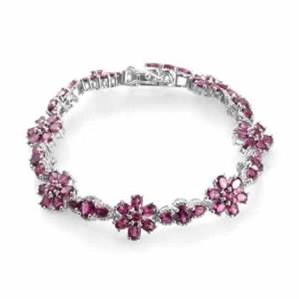15.65 CTW Rhodolite Garnet Bracelet