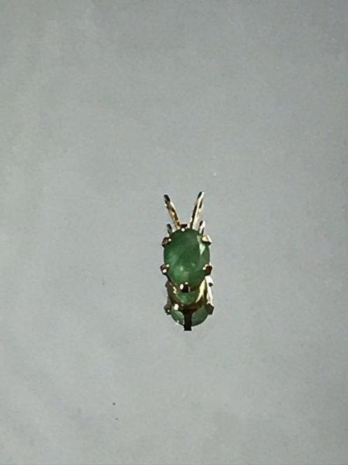 Brazilian Emerald Pendant