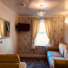 Suite lounge.