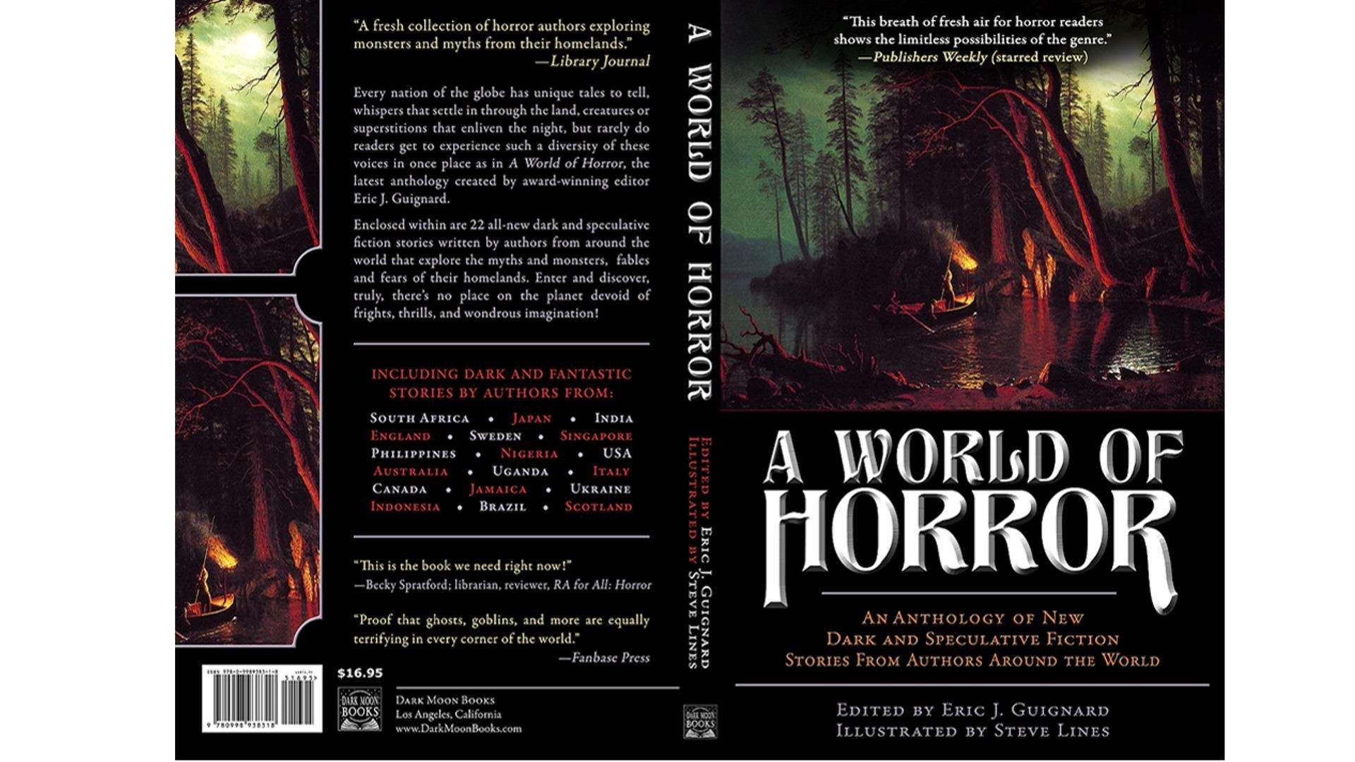 Book Review: A World of Horror edited by Eric J  Guignard