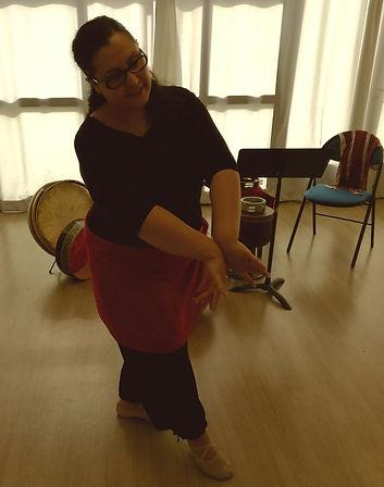 Stage danse persane