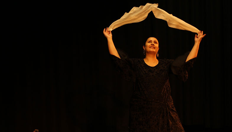 Danse arabo-andalouse avec foular