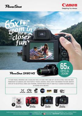 Canon Sx series Regional Campaign