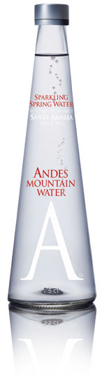 Andes Mountain Water Glass 250ml SPARKLING