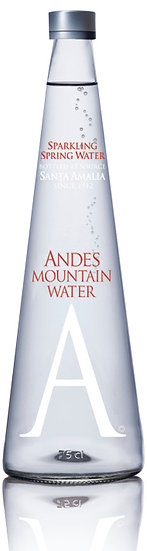 Andes Mountain Water Glass 750ml SPARKLING