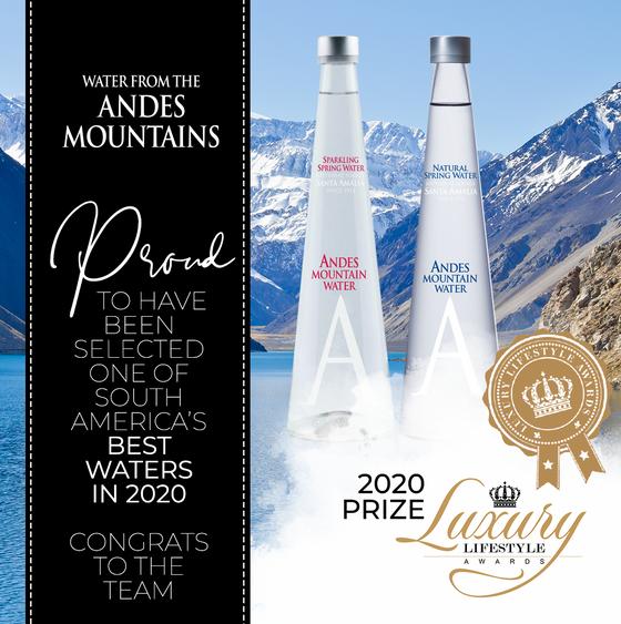 Winner of Best Water 2020 in South America