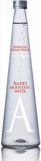 Andes Mountain Water Glass 500ml SPARKLING
