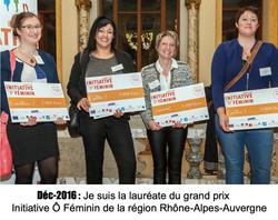 Unique et Féminine Cournon - Grand prix InitiativeÔFéminin