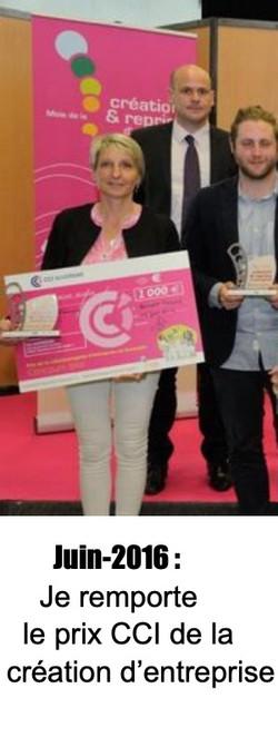 Unique et Féminine Cournon - Prix de la création d'entreprise CCI