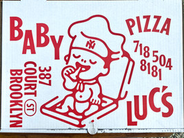 Where to Eat Pizza:  Baby Luc's, Brooklyn, NYC