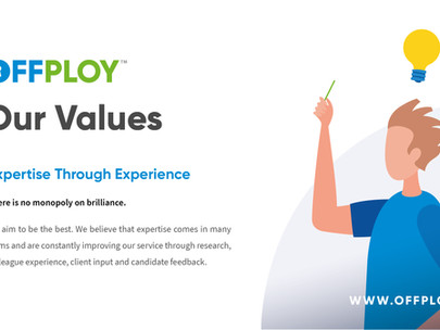 We are experts through experience