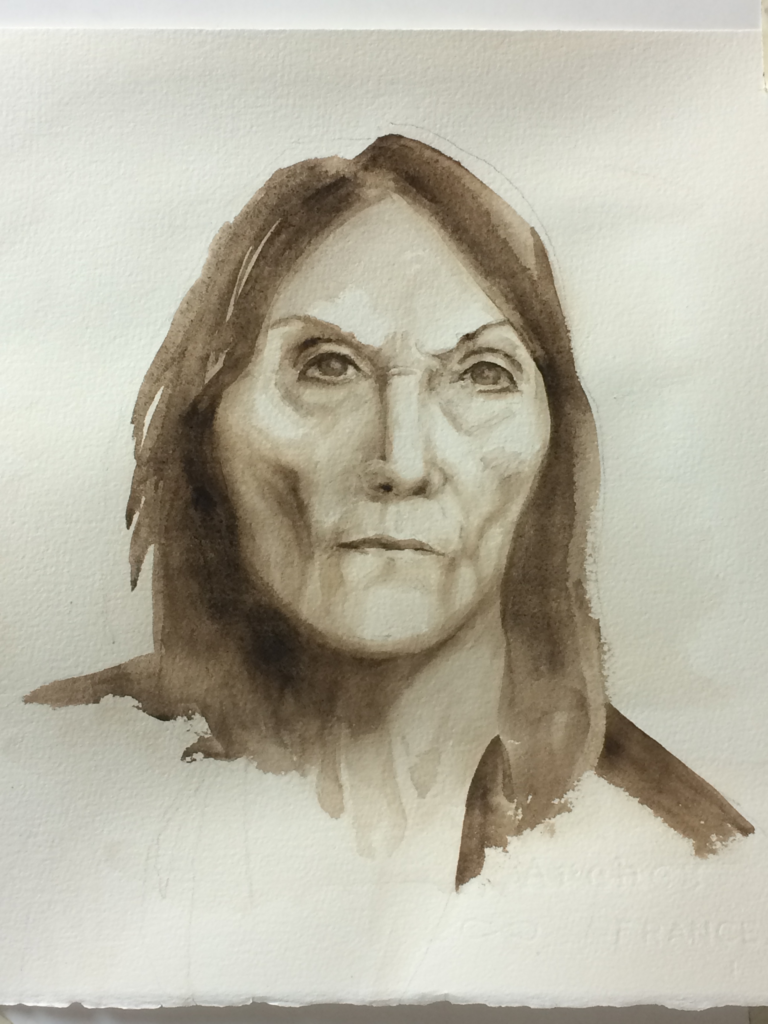 Anna Nina III watercolor