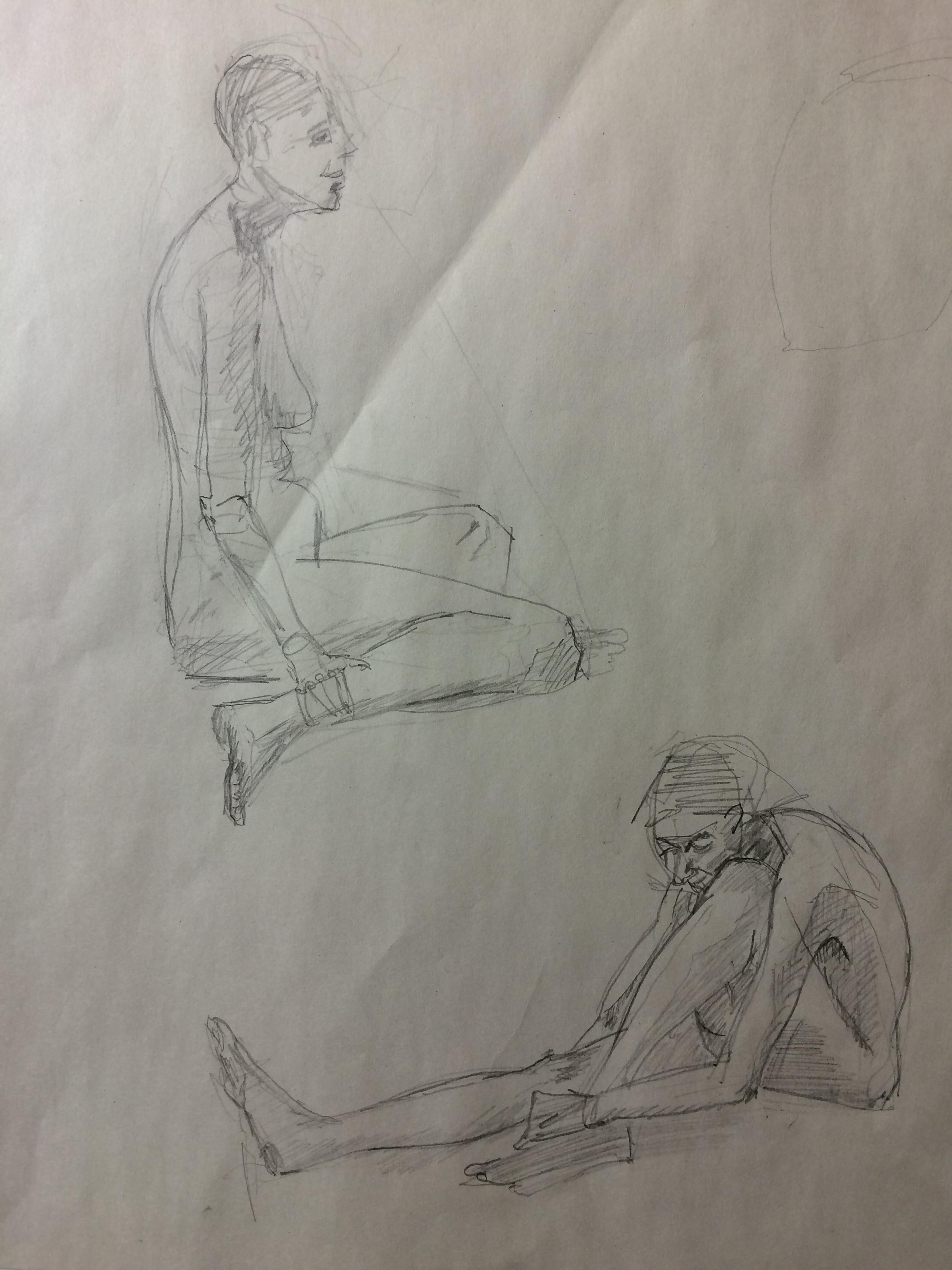 Teresa - 10 mins sketches