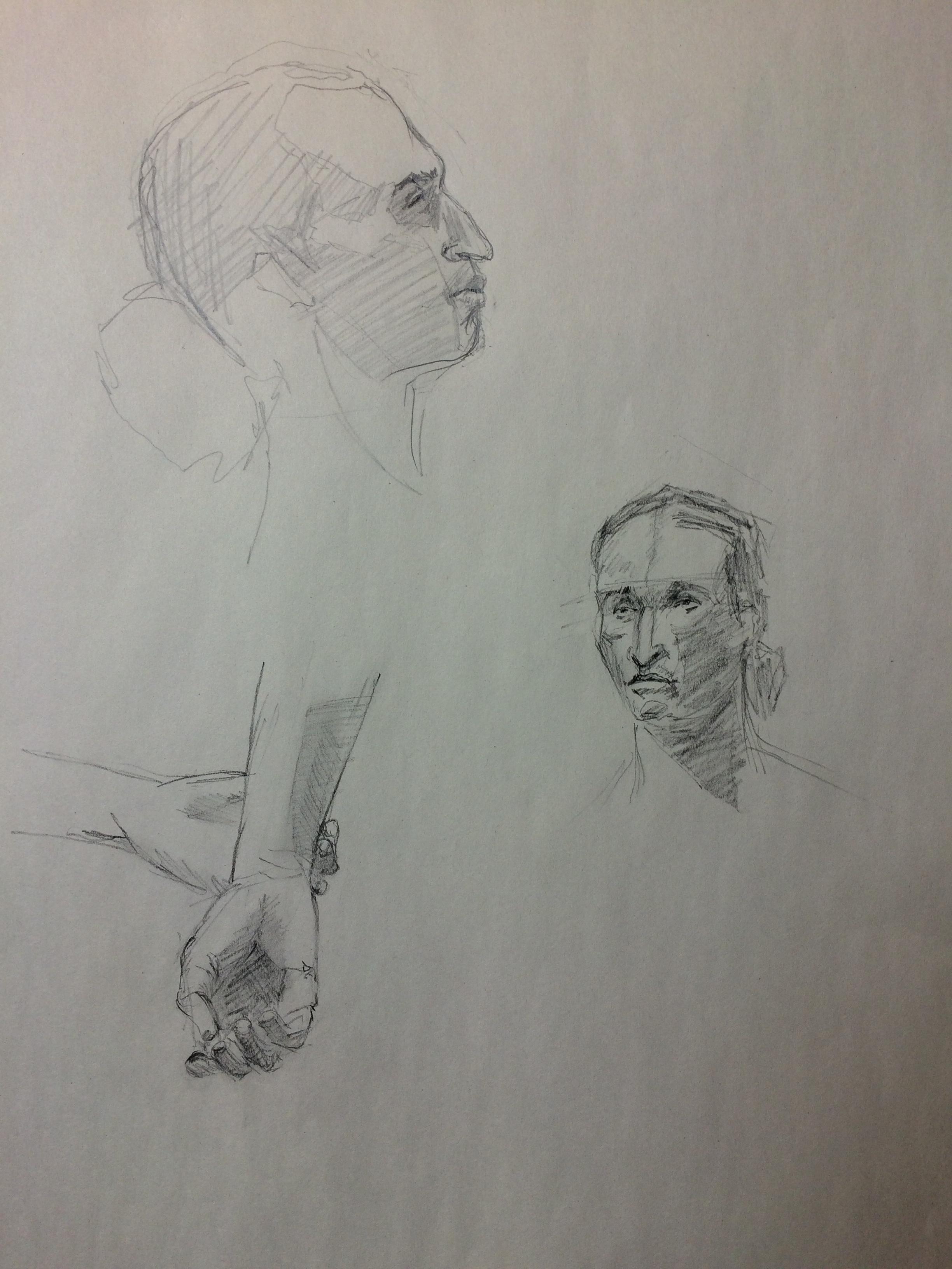 Justine - 10 mins sketches