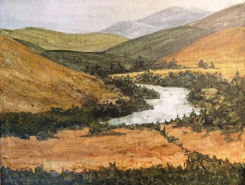 2015 Truckee (acrylic on canvas)
