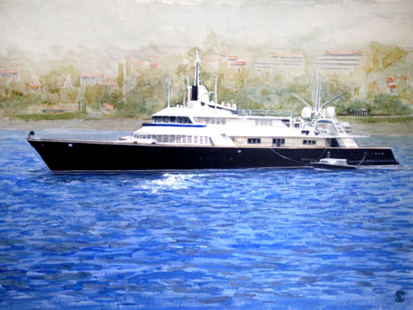 The Story of a Superyacht