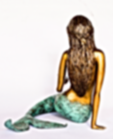 Bronze Mermaid Sage Barela