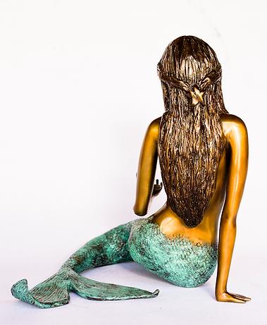 Bronze Mermaid Sage Barela