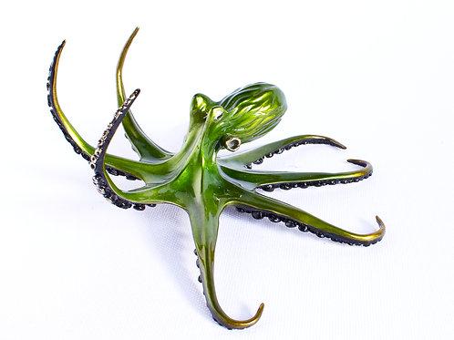 Greengo, bronze octopus