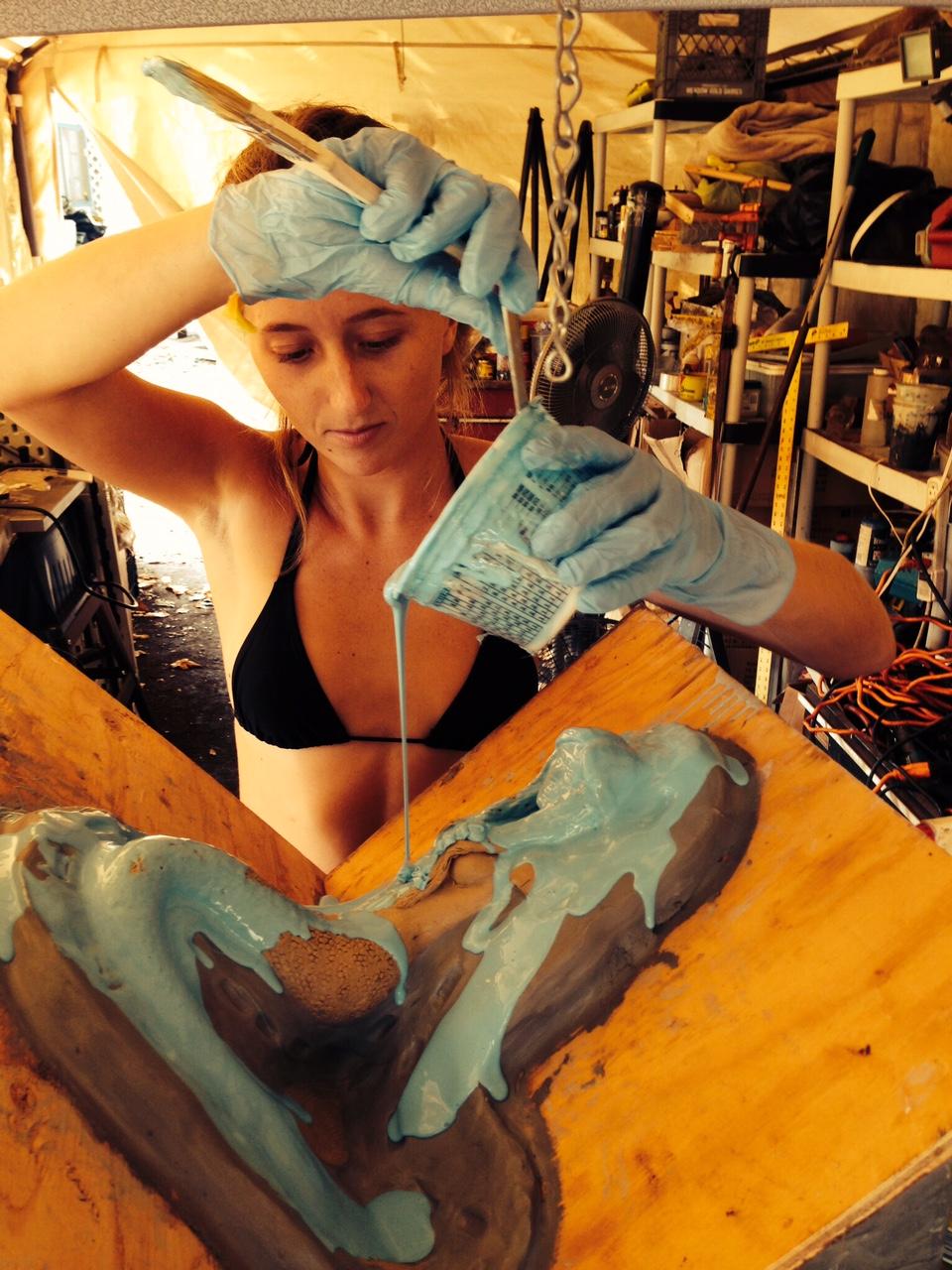 Sage Barela Mold Making