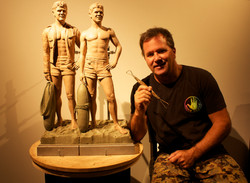 Chris Barela- Clay sculpt
