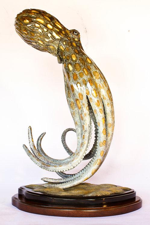 He'e Hele, bronze octopus