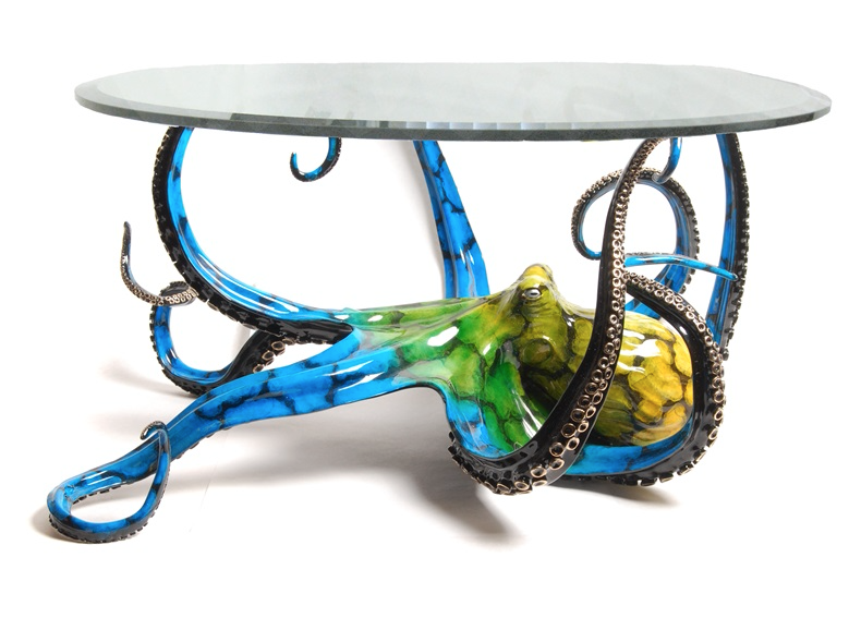 Octopus Table Turtle Tables Marine Life Coffee Table